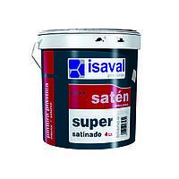 Краска интерьерная высокого качества ISAVAL Сатинадо Супер 4 л тонированная (RAL)