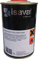 Поліуретановий розчинник для розведення фарби на основі поліуретанових смол 1л ISAVAL