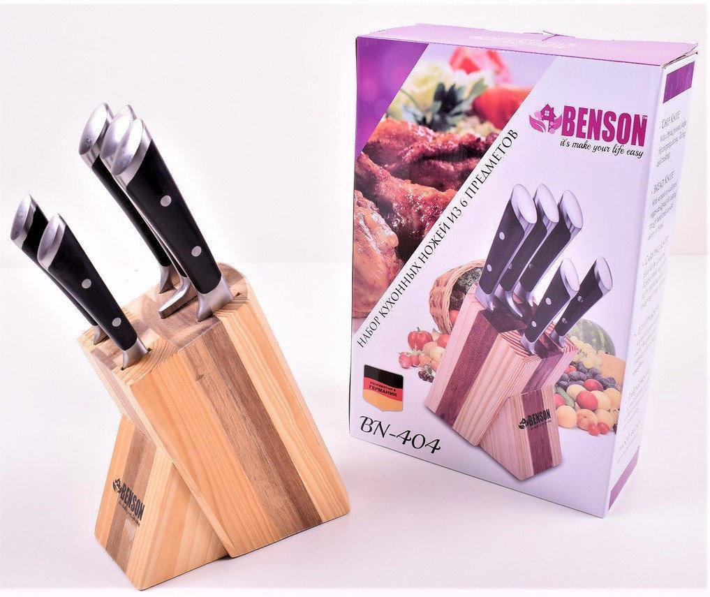Набор ножей из медицинской нержавеющей стали Benson BN-404(6 предметов)