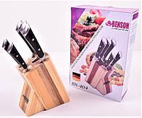 Набор ножей из медицинской нержавеющей стали Benson BN-404(6 предметов), фото 1