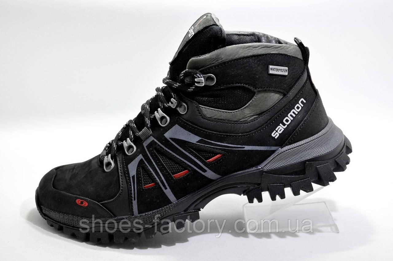 Зимние ботинки в стиле Salomon, Black