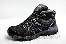 Зимние ботинки в стиле Salomon, Black, фото 2