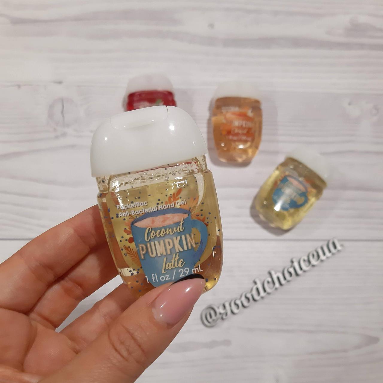 Антибактериальный гель для рук Bath&Body Works Coconut Pumpkin Latte