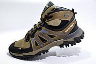 Зимние ботинки в стиле Salomon, мужские на меху