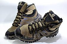 Зимние ботинки в стиле Salomon, мужские на меху, фото 3