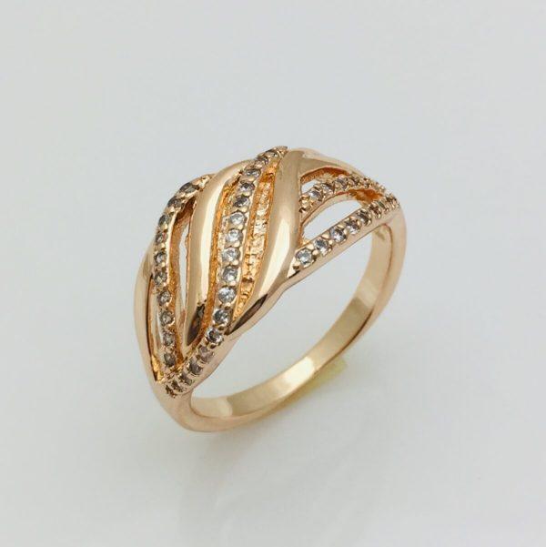 Кольцо женское Сальса, размер 17, 18, 19, 20, 21, 22