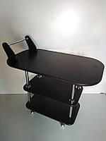 Журнальный стол - РЕЛАКС 3 С РУЧКОЙ,венге темный