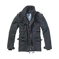 Куртка Brandit M65VoyagerWoolJacketBlack M Черный 3147.2-M, КОД: 715011