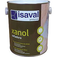 Алкідна грунтовка для дерева на водній основі, біла, шліфується - Ксанол Селладора 2,5 л=25м2 isaval, фото 1