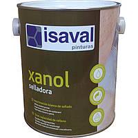 Алкидная грунтовка для дерева на водной основе, белая, шлифуется - Ксанол Селладора 2,5л=25м2 isaval