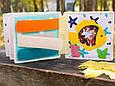 Книжечка-игрушка для детей развивающая 5, фото 7