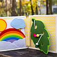 Книжечка-игрушка для детей развивающая 5, фото 8