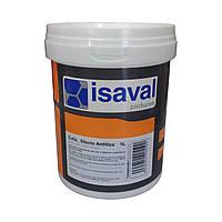 Матовий акриловий лак на водній основі для захисту поверхонь від меления Котис 1л=14-17м2 isaval
