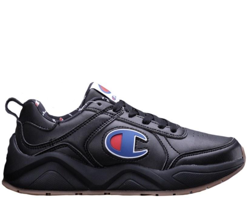Оригинальные кроссовки мужские/женские CASBIA x Champion AWOL Atlanta All Black