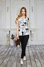 Женская медицинская куртка топ Божена - Жіноча медична куртка топ Божена - Одежда для косметолога, фото 2