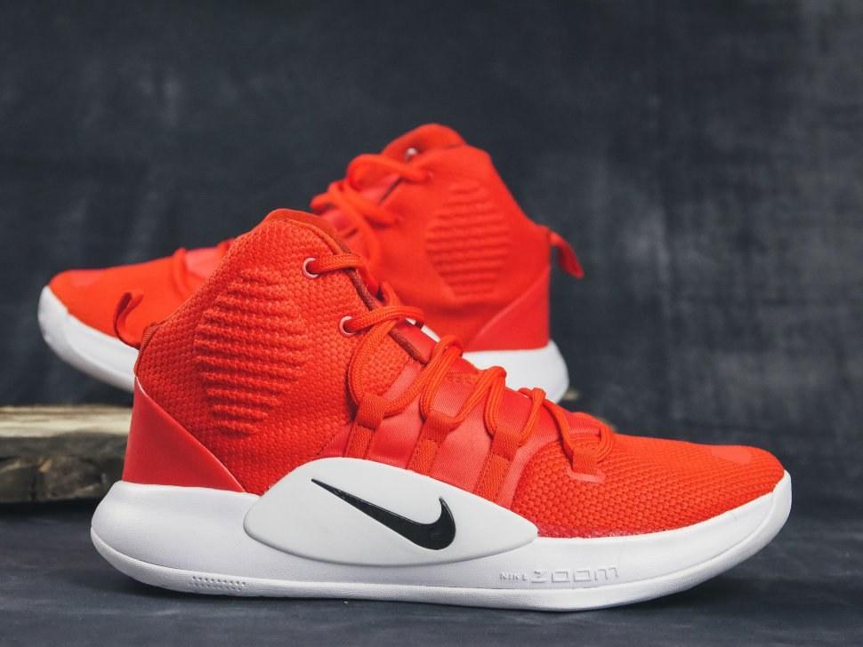 Оригинальные кроссовки баскетбольные мужские Nike Hyperdunk X TB Red/White
