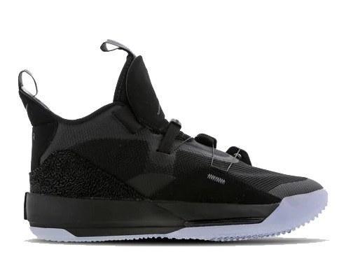 Оригинальные кроссовки баскетбольные мужские Nike Air Jordan 33 Black/Dark Grey/White