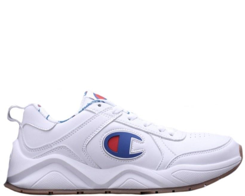 Оригинальные кроссовки мужские/женские CASBIA x Champion AWOL Atlanta All White/Blue