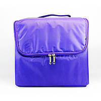 Сумка для мастера YRE тканевая фиолетовая со сьемными полками