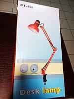 Настольная лампа Desk Lamp МТ-800 с прищепкой, фото 1