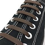 Силиконовые шнурки Coolnice В01 Brown (n-89), фото 3