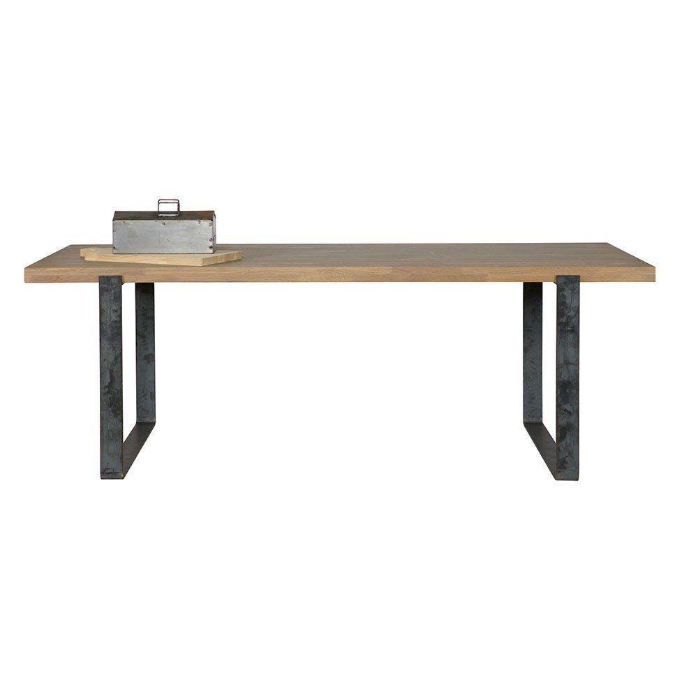 """Деревянный обеденный стол """"Джейми"""" в стиле loft"""