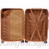 Дорожный чемодан на колесах Bonro Next средний желтый (10642407), фото 3