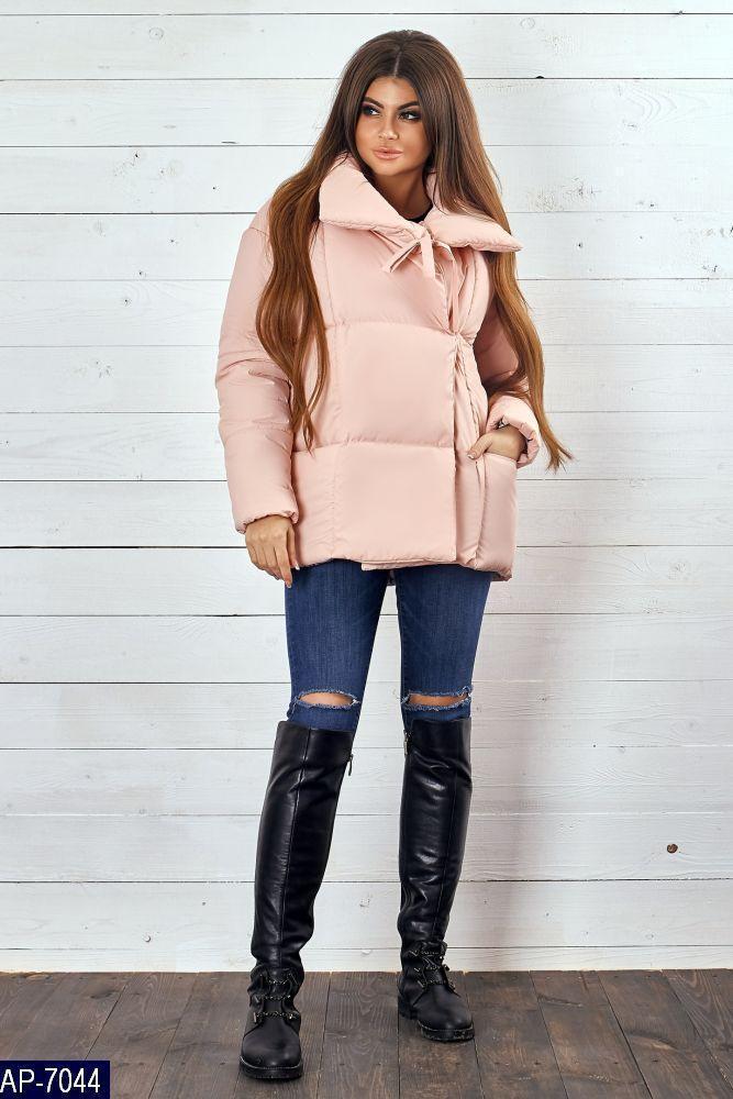 Демисезонная куртка плащевка утепленная синтепон 200 42 44 46 48 размеры  Новинка есть цвета