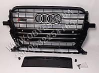 Решетка радиатора Audi Q5 2012-2015 стиль SQ5 Black Edition
