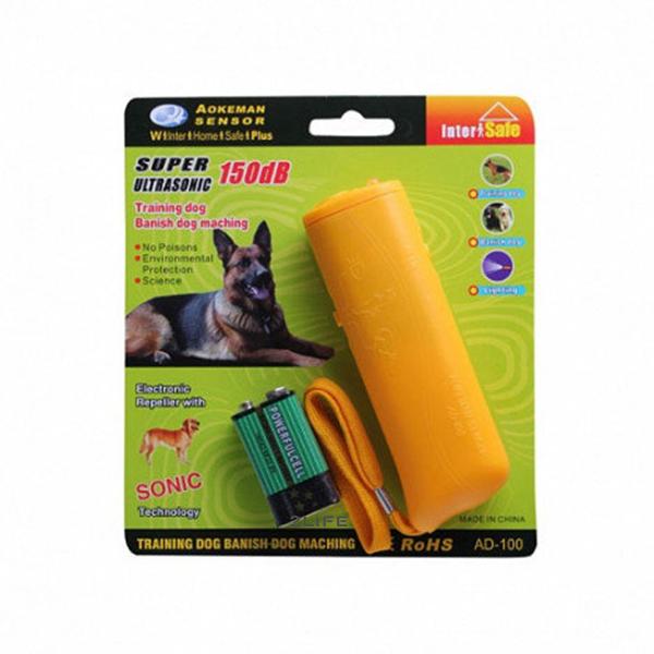 Ультразвуковой отпугиватель собак 2Life AD-100 Yellow (n-91)