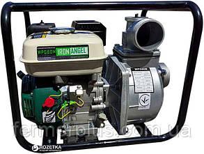 Мотопомпа Iron Angel WPG 80M (для чистой воды, 60 м.куб/час) Бесплатная доставка