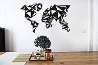 Картина из дерева Geometric World 60x100 см GE1001