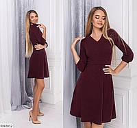 Расклешенное красивое платье ангора арт 692