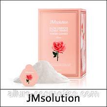 Ензимна пудра для вмивання з трояндою JMsolution Glow Luminous Flower Firming Powder Cleanser Rose