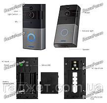 Дверной WiFi Video Doorbell KERUI, фото 3
