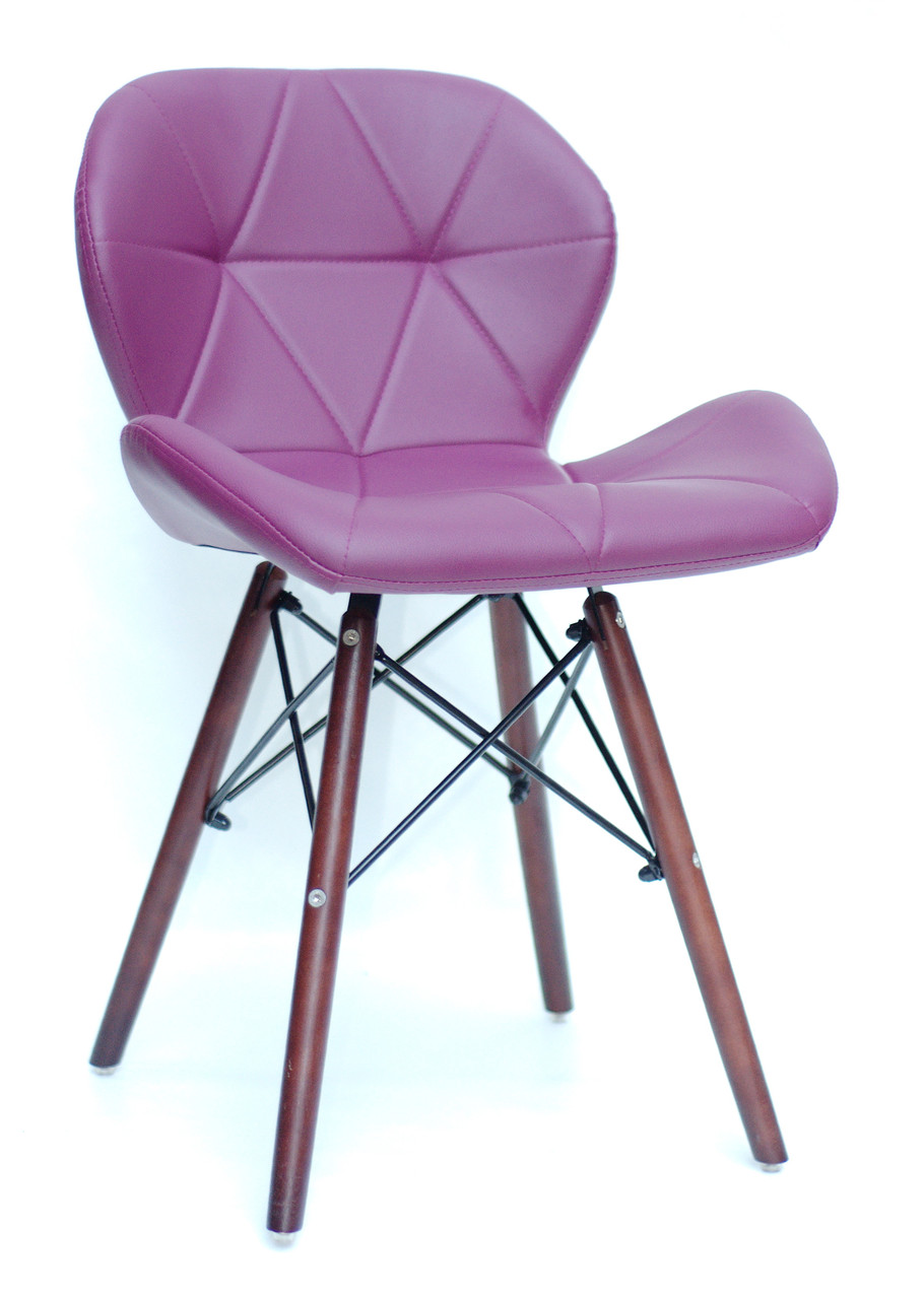 Стул Invar (Инвар) W   ЭК экокожа ,цвет пурпурный 61
