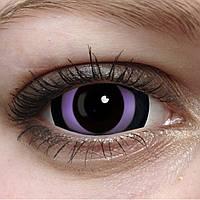 Линзы Склеры Хоррор фиолет