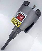 Коронка алмазная ADTnS 72мм для подрозетников с магнитным хвостовиком SDS+ САСС-W 072x70-4 CS-X (37982017080)