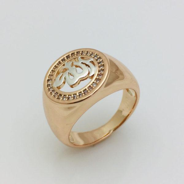 Перстень чоловічий Східний, розмір 18, 19, 20, 21