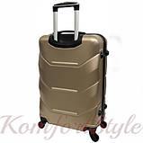 Дорожный чемодан на колесах Bonro 2019 средний шампань (10500508), фото 2