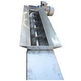 Шнековый конвейер в желобе Ø150мм L4000, фото 3