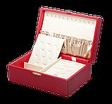 Шкатулка для ювелирных украшений  22*13,6*7,5 603426 молочная, фото 2