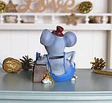 Копилка мышка бизнесмен 11*14*9 см 026 A 030D, фото 4