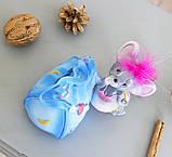 Копилка мышка гламур 13*11*10 см 026 A 046-3, фото 5