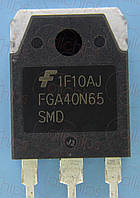 IGBT 650В 40А Fairchild FGA40N65SMD TO3P