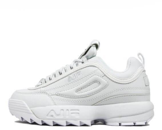 Оригинальные кроссовки мужские Fila Disruptor II All White