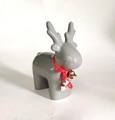 Статуэтка керамика Олень бежевый 12*5.5*14 см 1407-14 бежевый фигурка оленя