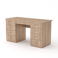 Стол письменный учитель-3 дуб сонома  (140х60х74 см)