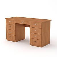 Стол письменный учитель-3 ольха  (140х60х74 см)