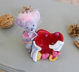 Статуэтка для мелочей мышка I love you 026 A 080-81A, фото 3